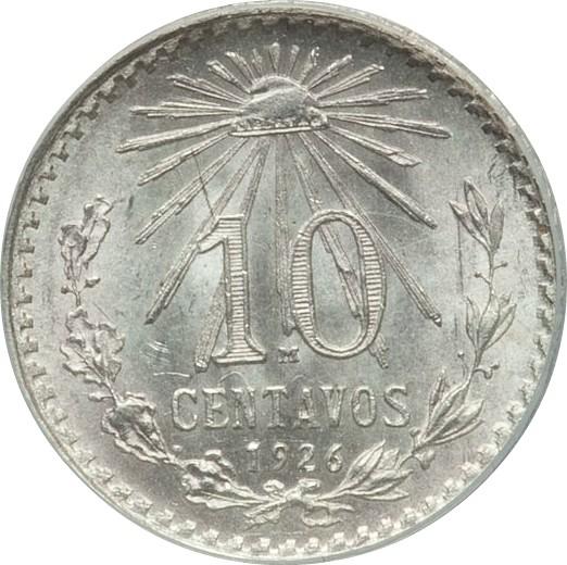 Mexico 10 Centavos (1925-1935)