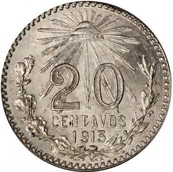 Mexico 20 Centavos (1905-1914)