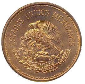 Mexico 20 Centavos (1943-1955 National Emblem)