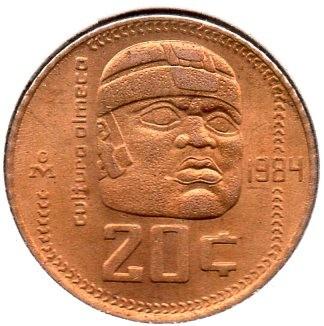 Mexico 20 Centavos (1983-1984)