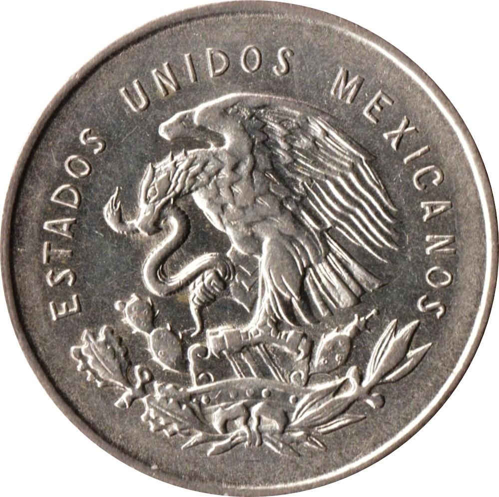 Mexico 25 Centavos (1950-1953)