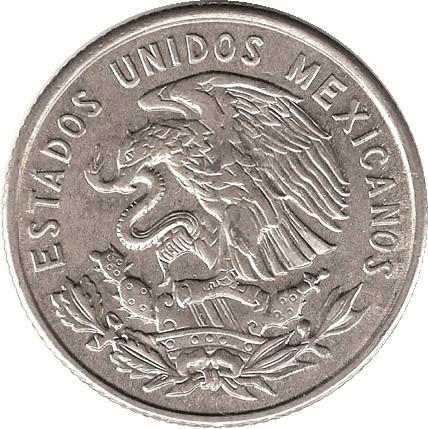 Mexico 25 Centavos (1964-1966)