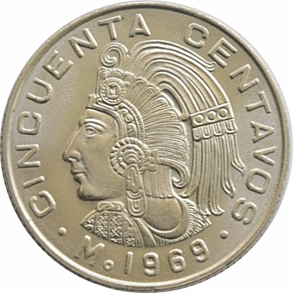 Mexico 50 Centavos (1964-1969)