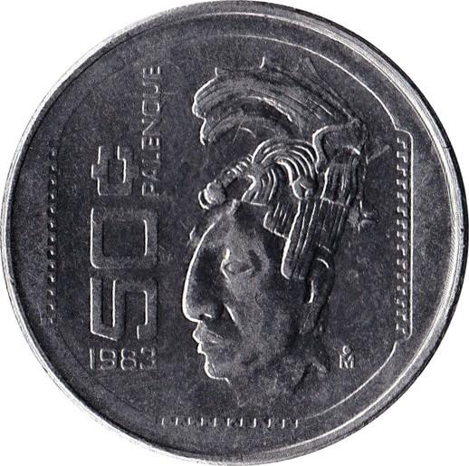 Mexico 50 Centavos (1983)