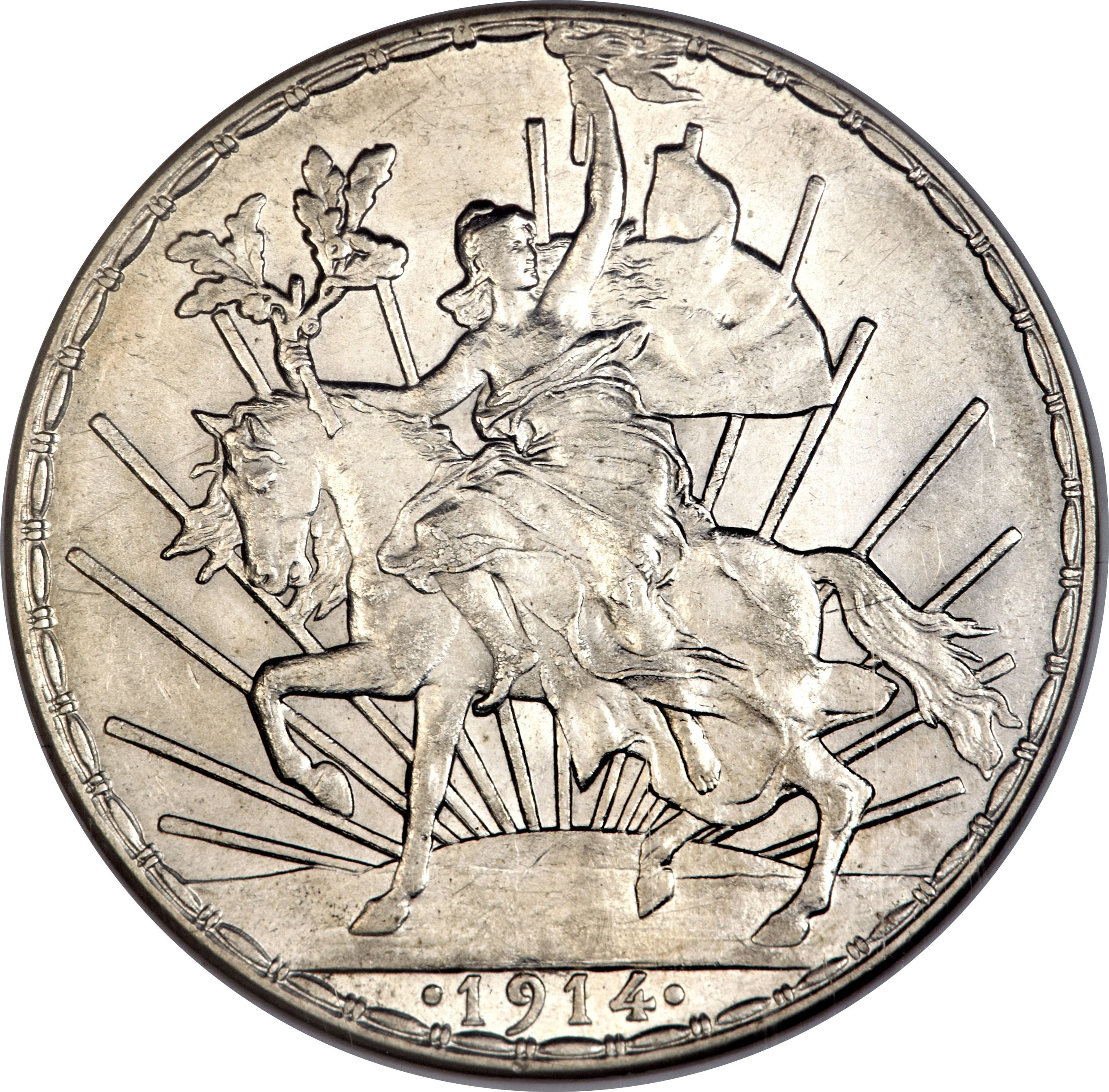 Mexico 1 Peso (1910-1914)