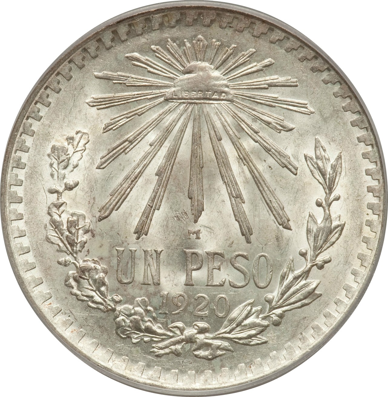 Mexico 1 Peso (1920-1945)