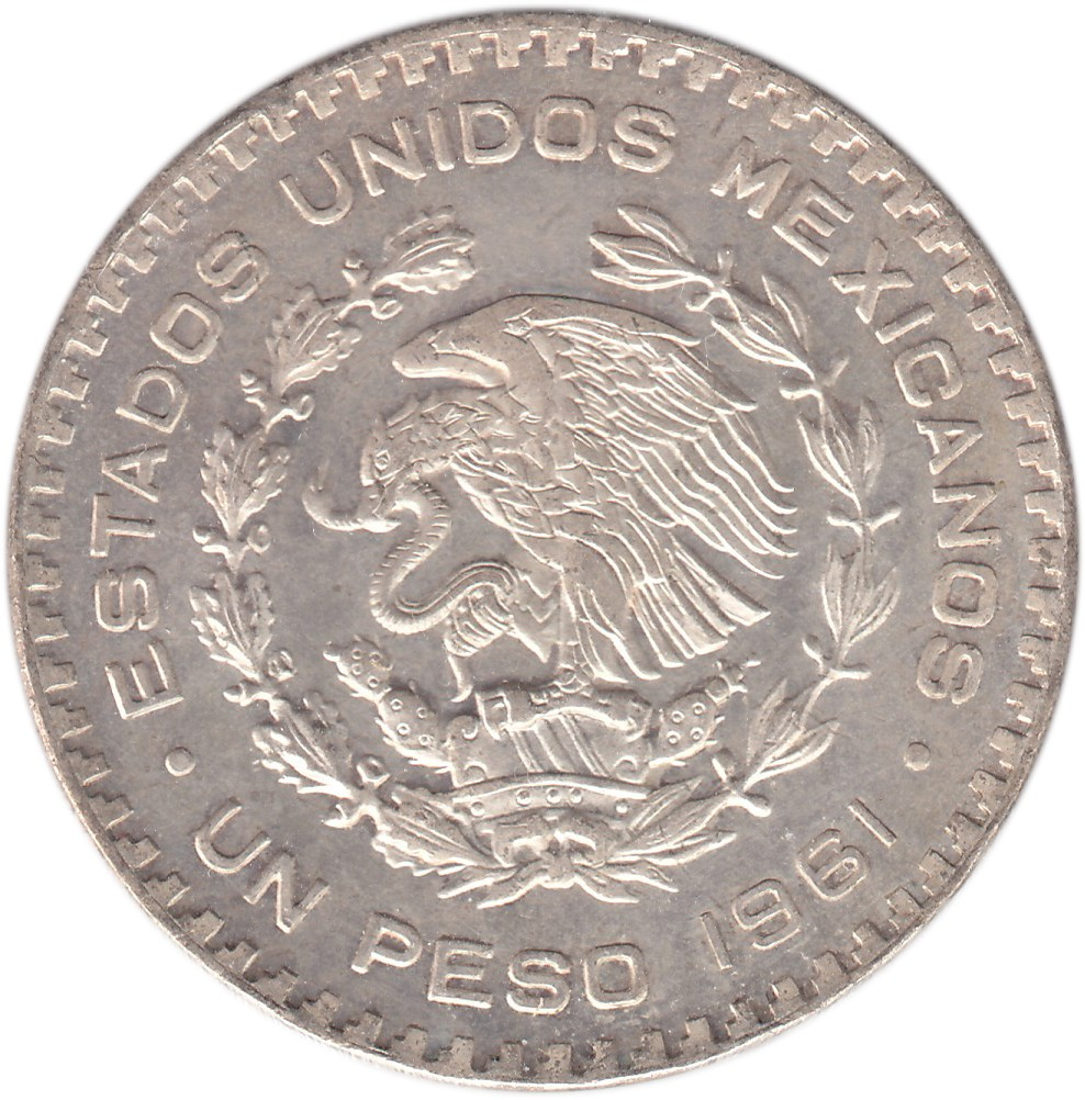 Mexico 1 Peso (1957-1967)