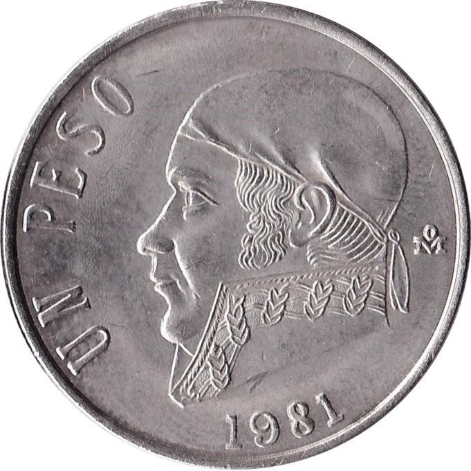 Mexico 1 Peso (1970-1983)