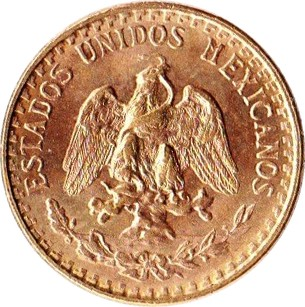 Mexico 2 Pesos (1919-1948)
