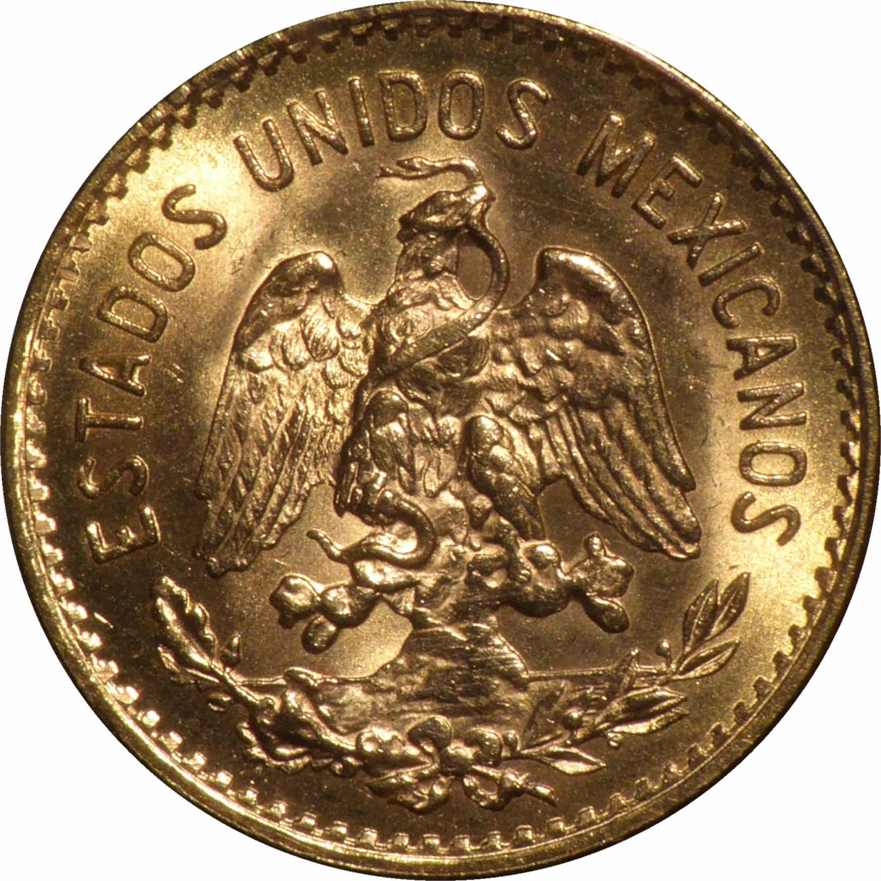 Mexico 5 Pesos (1905-1955)