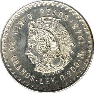 Mexico 5 Pesos (1947-1948)
