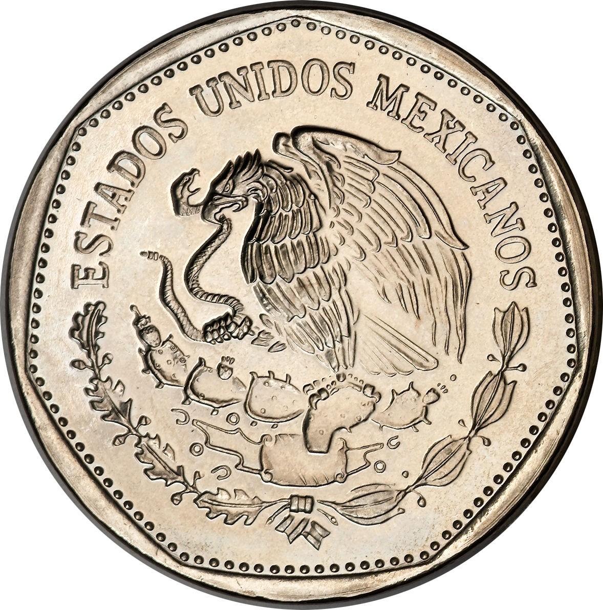 Mexico 5 Pesos (1980-1985)
