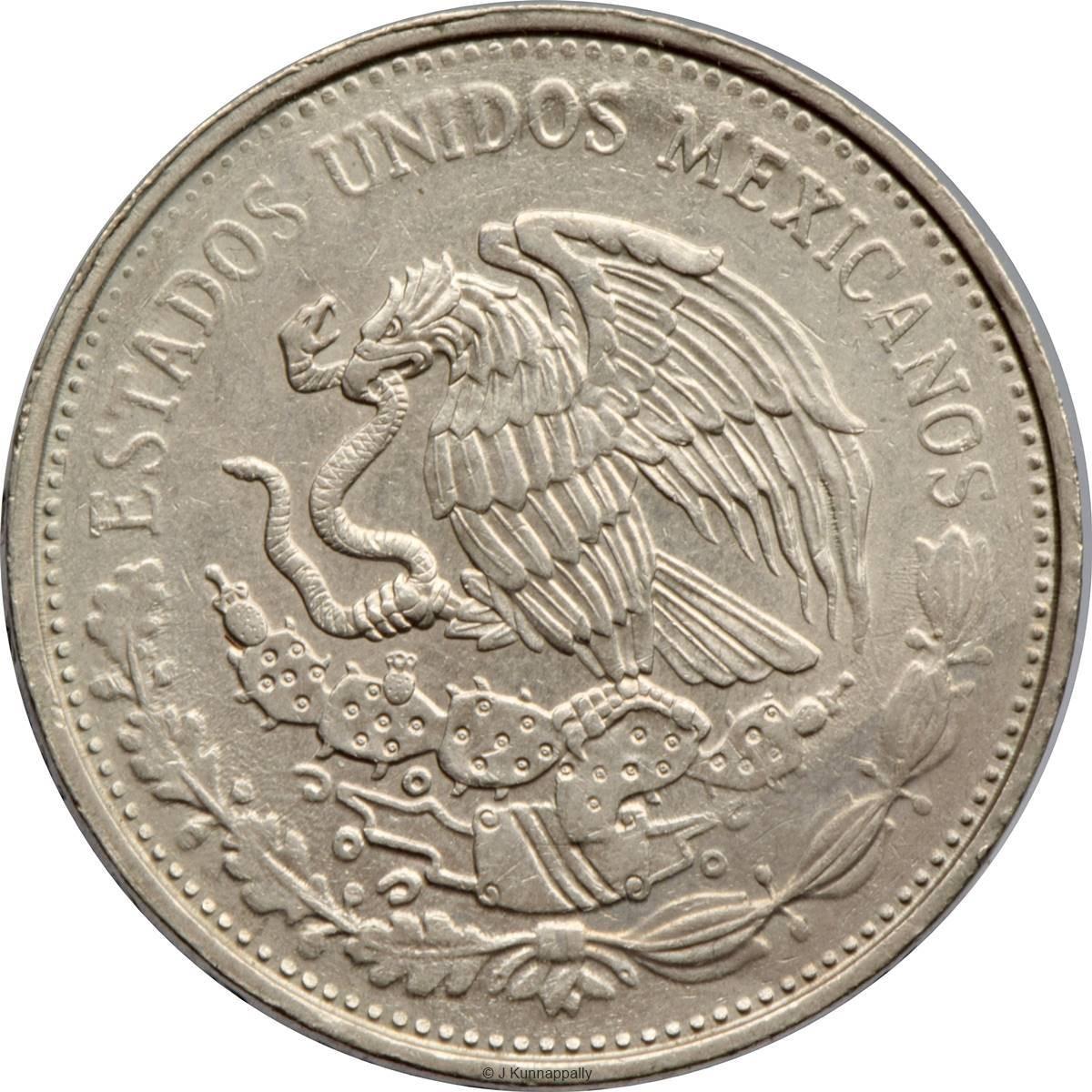 Mexico 20 Pesos (1980-1984)