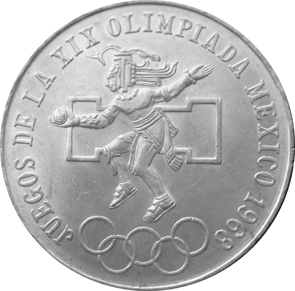 Mexico 25 Pesos (1968 Olympic Games)