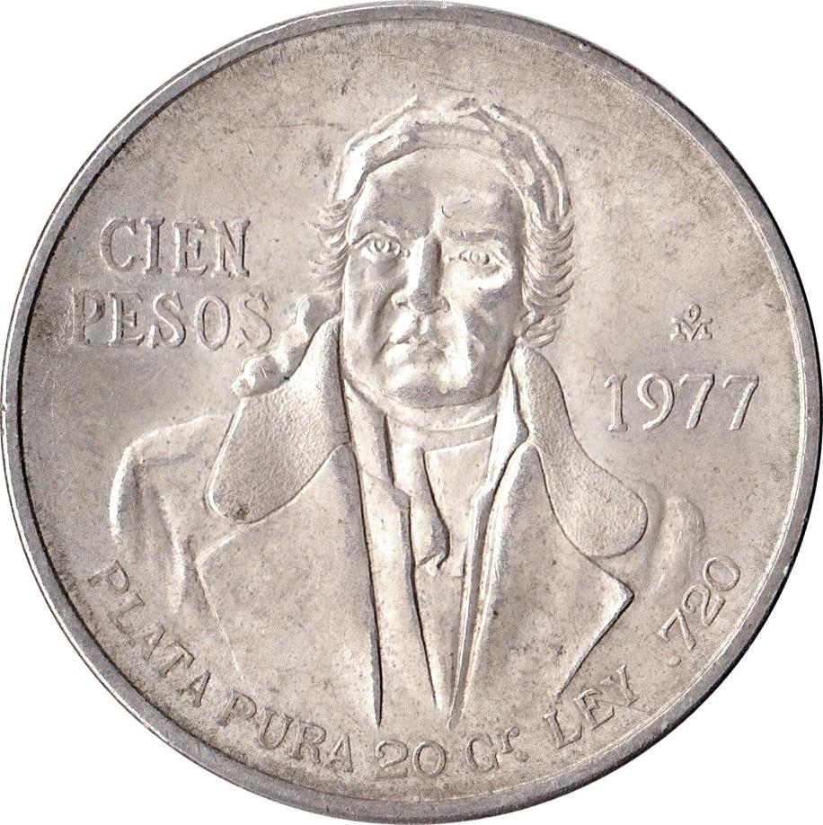 Mexico 100 Pesos (1977-1979)