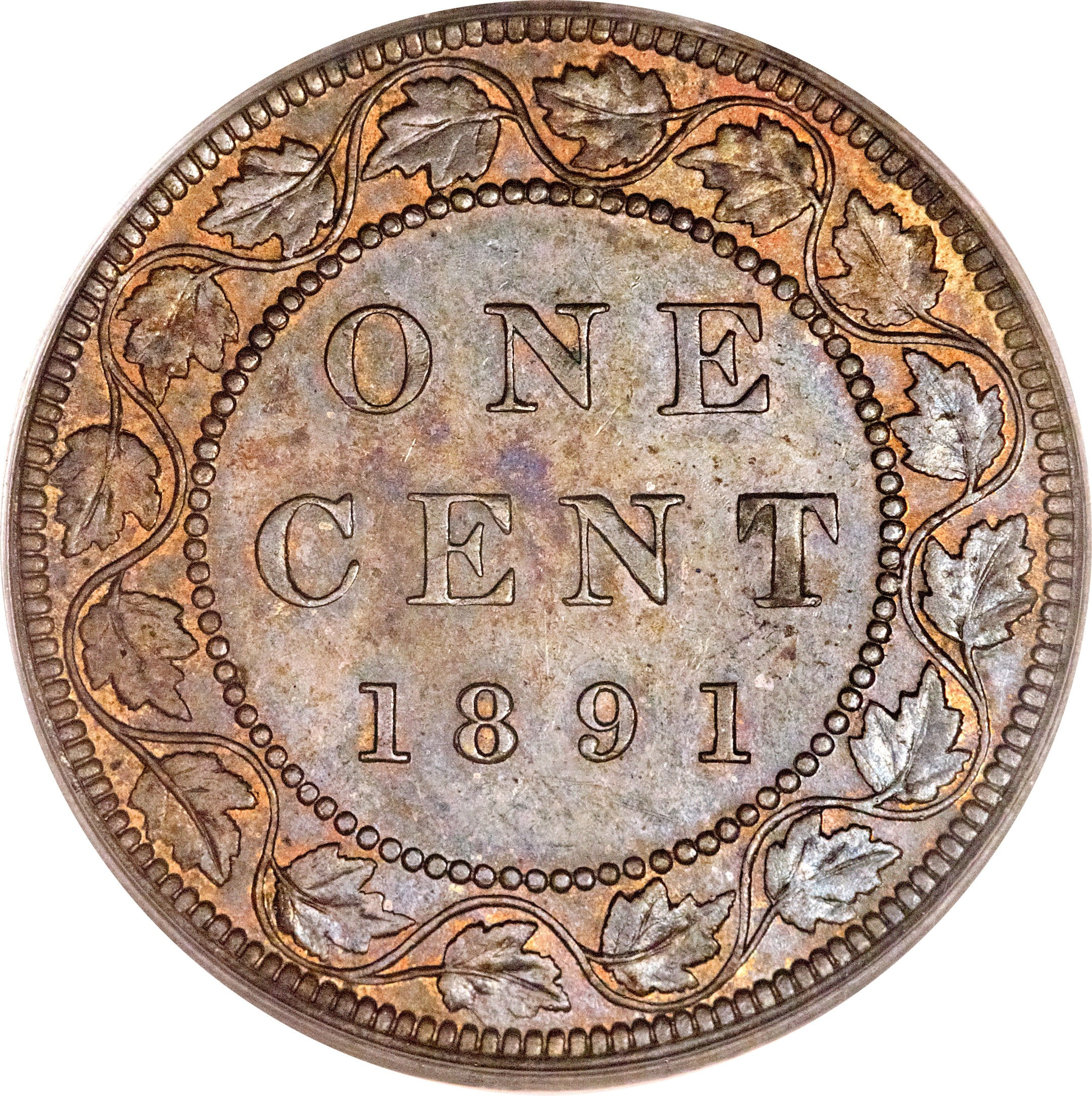 Canada 1 Cent (1876-1901 Victoria)