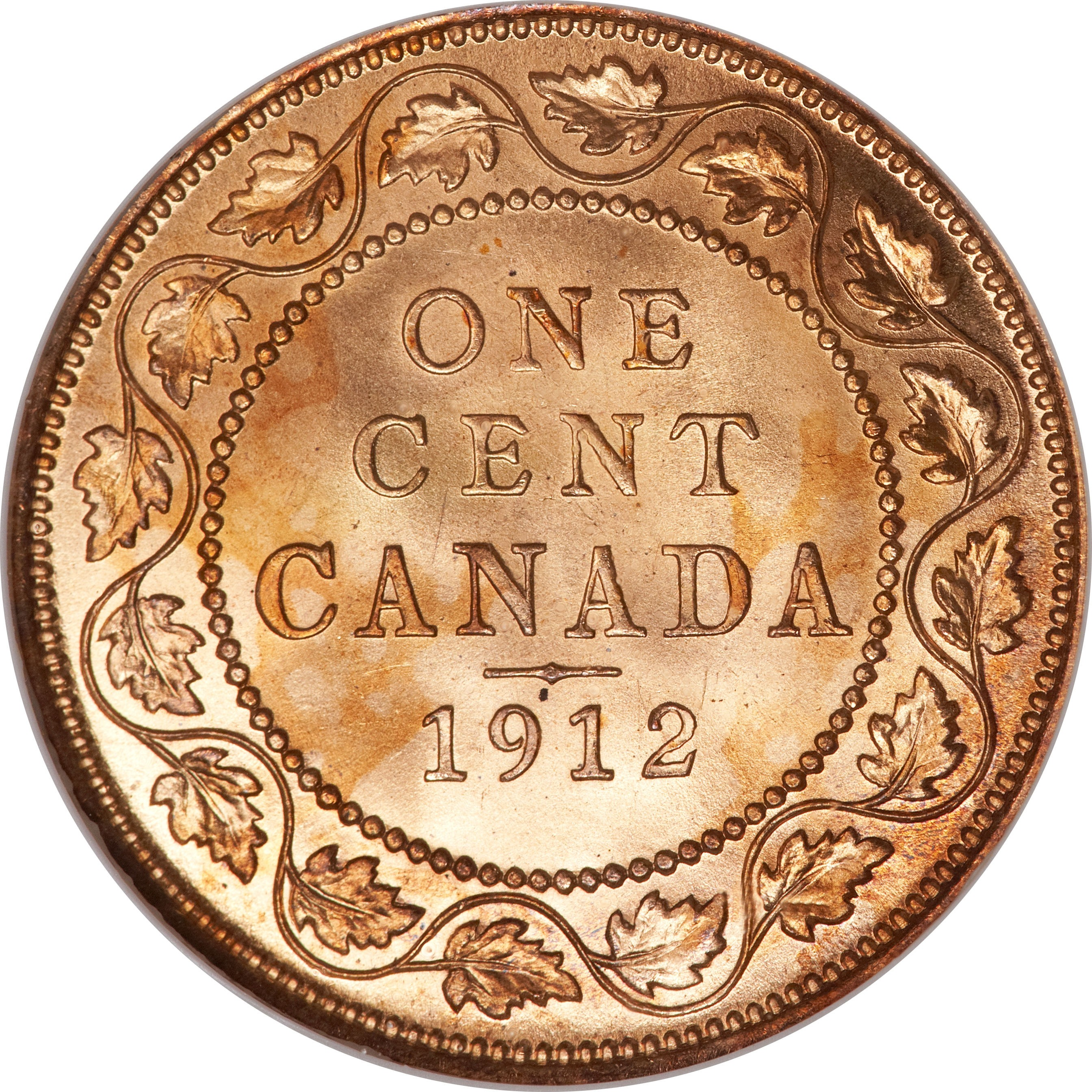 Canada 1 Cent (1912-1920 George V)