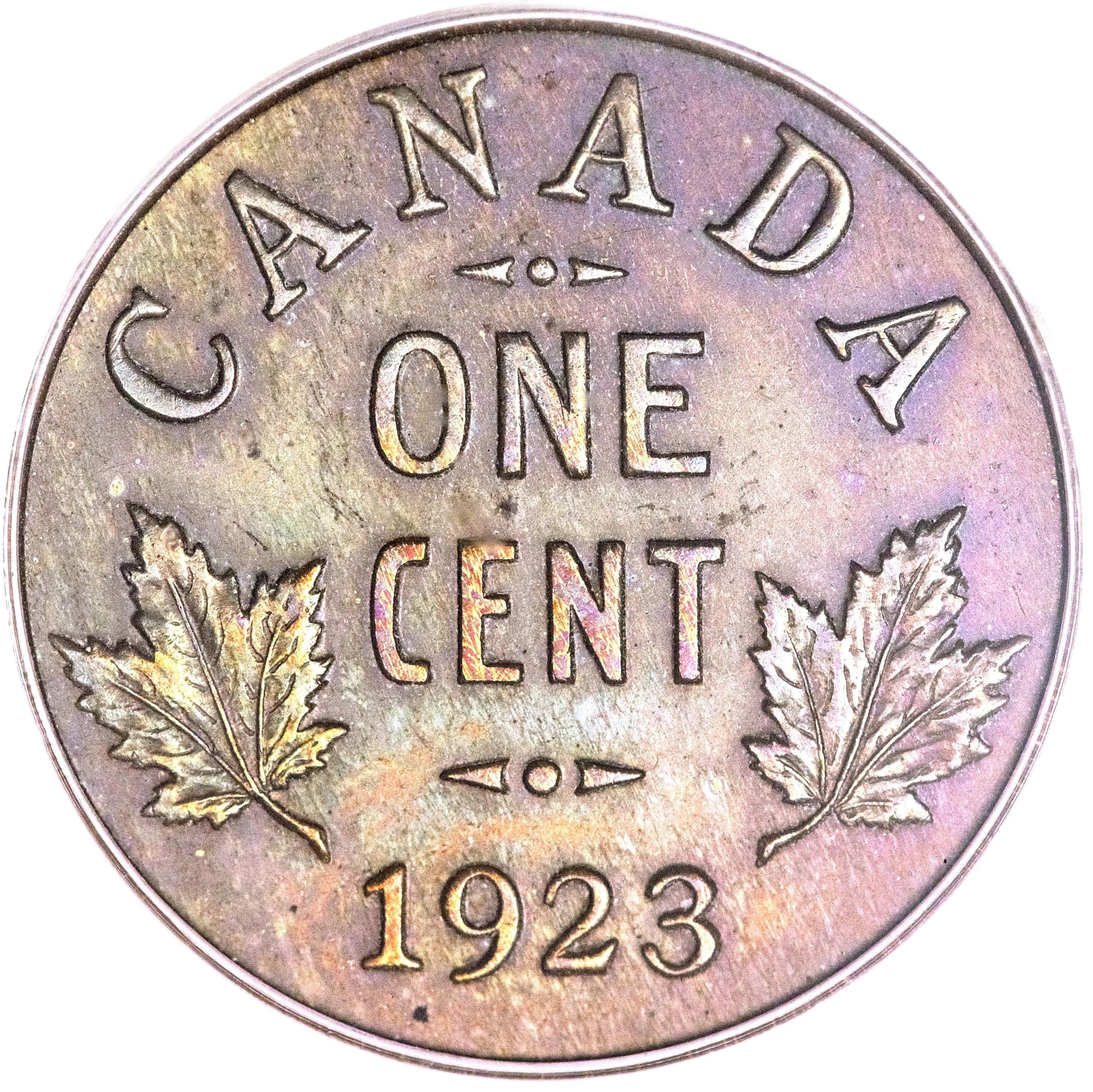Canada 1 Cent (1920-1936 George V)