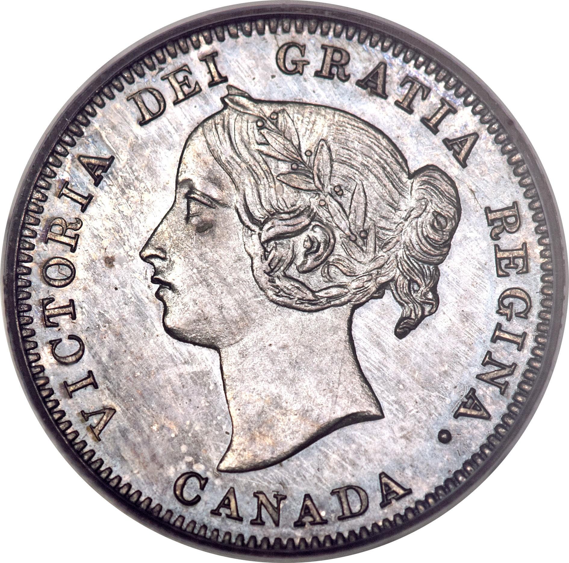Canada 5 Cents (1858-1901 Victoria)