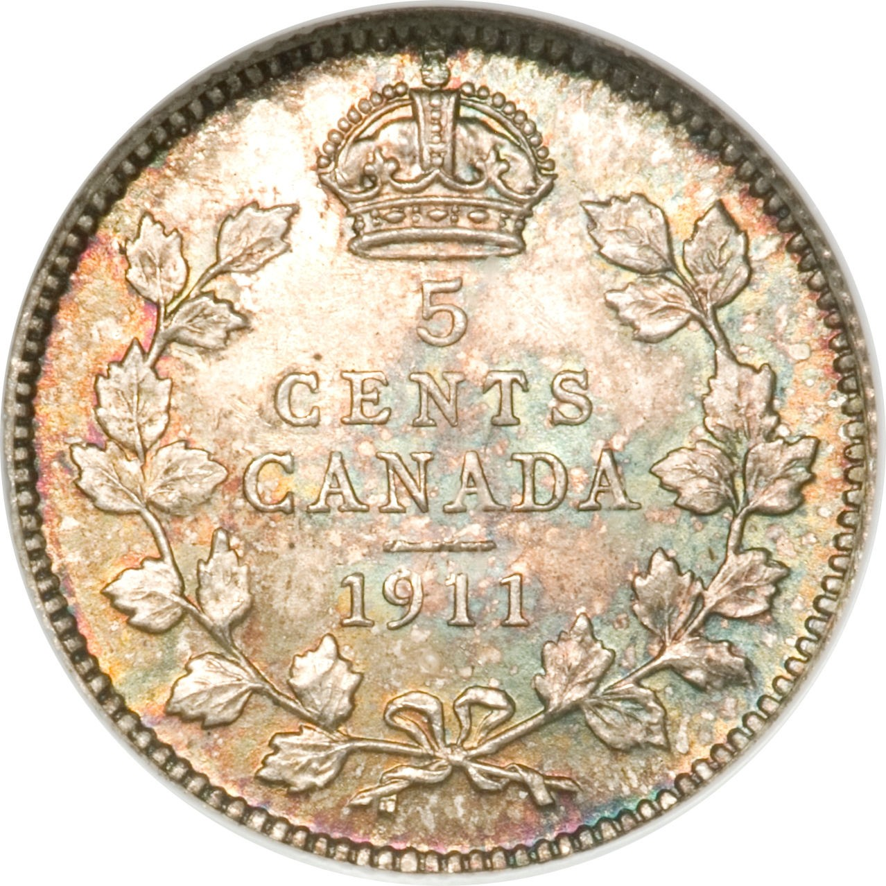 Canada 5 Cents (1911 George V)
