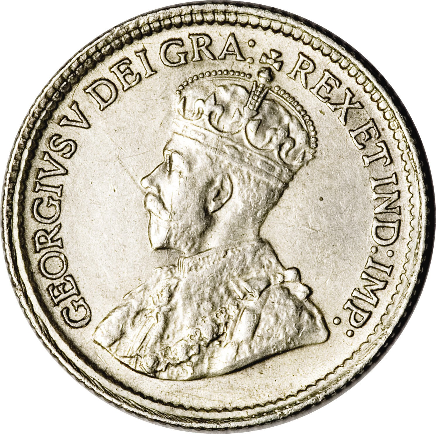 Canada 5 Cents (1920-1921 George V)