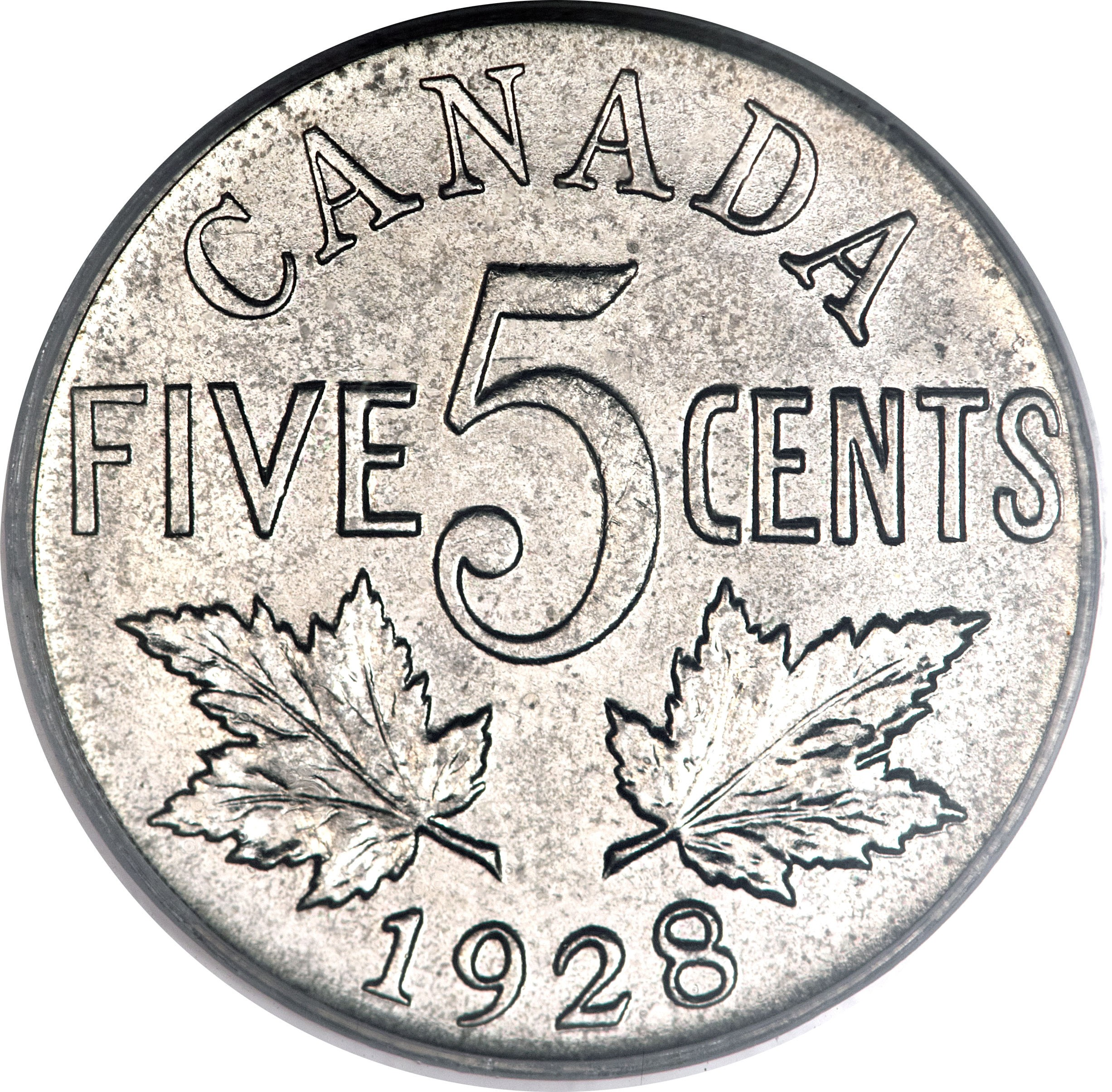 Canada 5 Cents (1922-1936 George V)