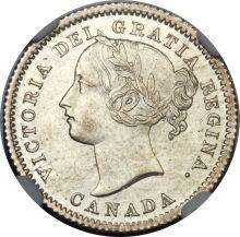 Canada 10 Cents (1858-1901 Victoria)