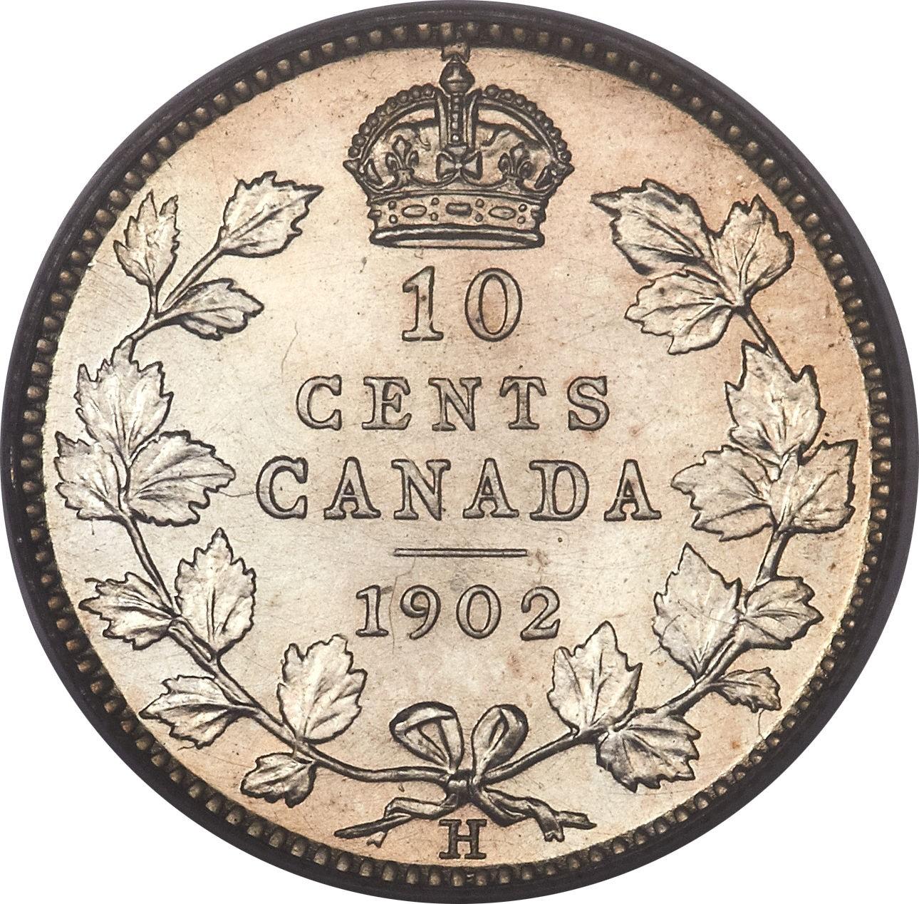 Canada 10 Cents (1902-1910 Edward VII)