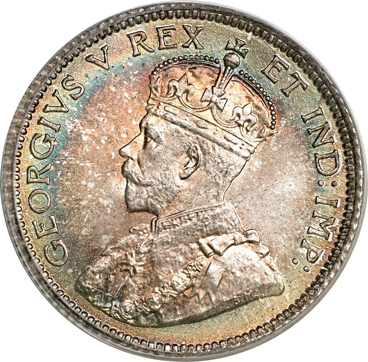 Canada 10 Cents (1911 George V)