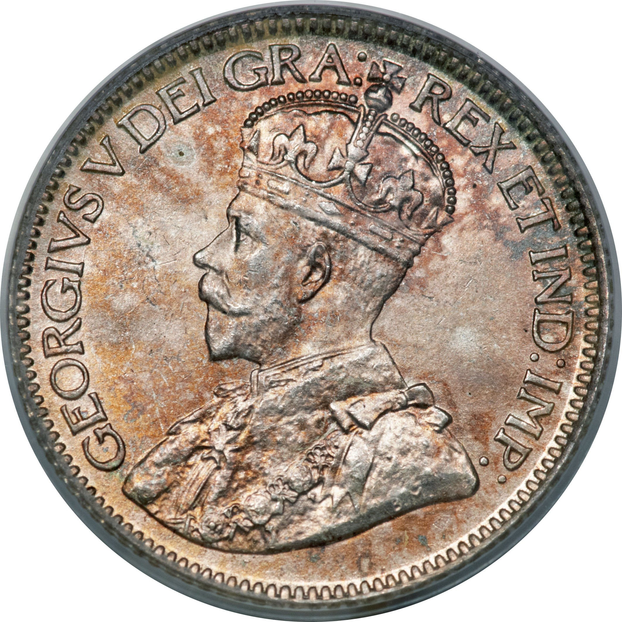 Canada 10 Cents (1912-1919 George V)