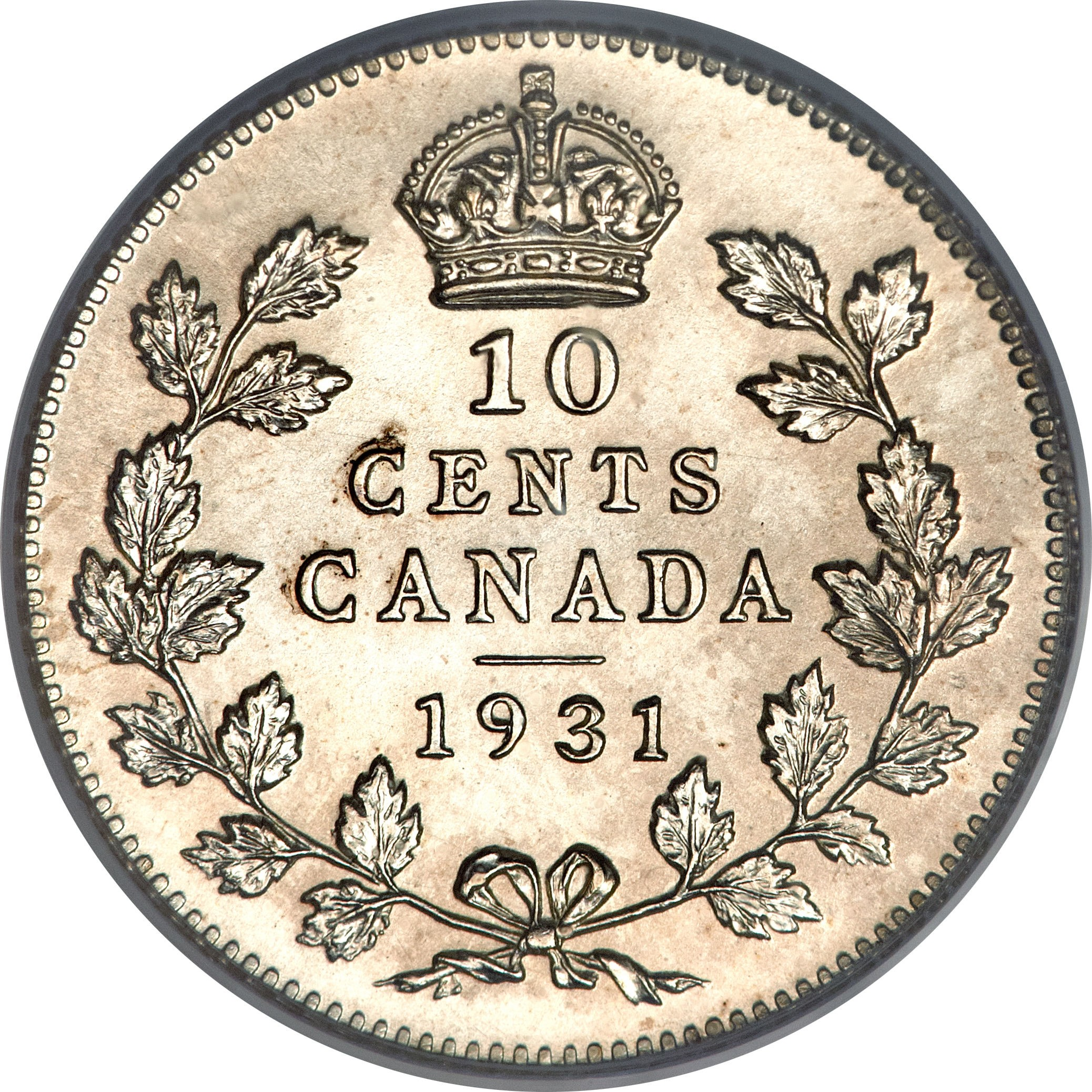 Canada 10 Cents (1920-1936 George V)