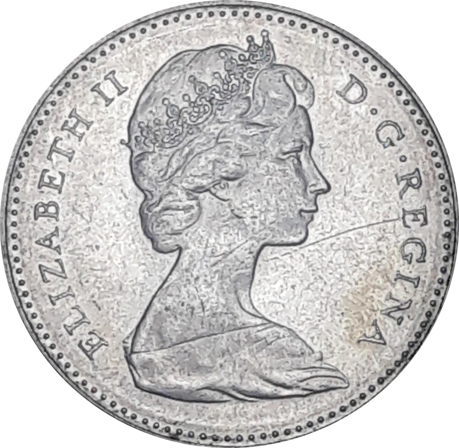 Canada 10 Cents (1967 Elizabeth II)