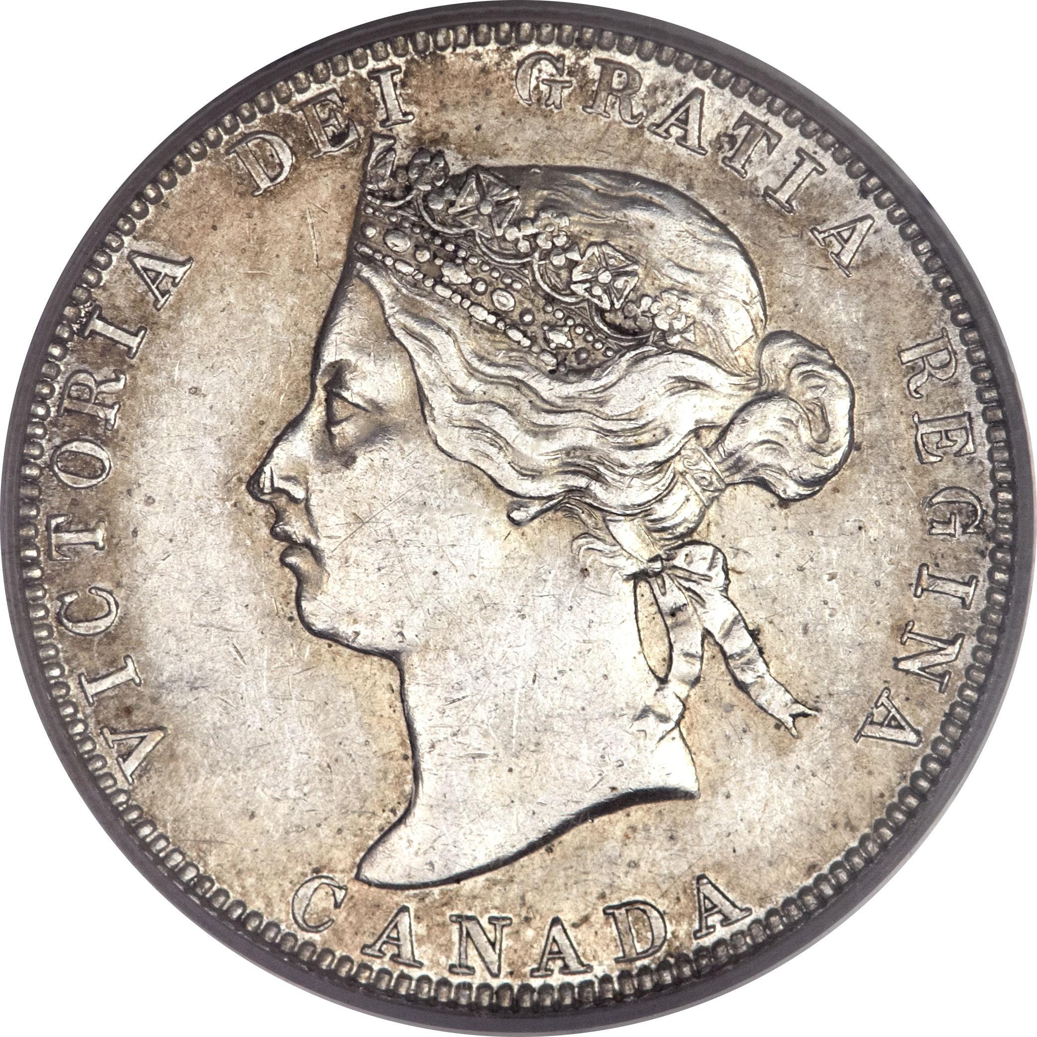 Canada 25 Cents (1870-1901 Victoria)