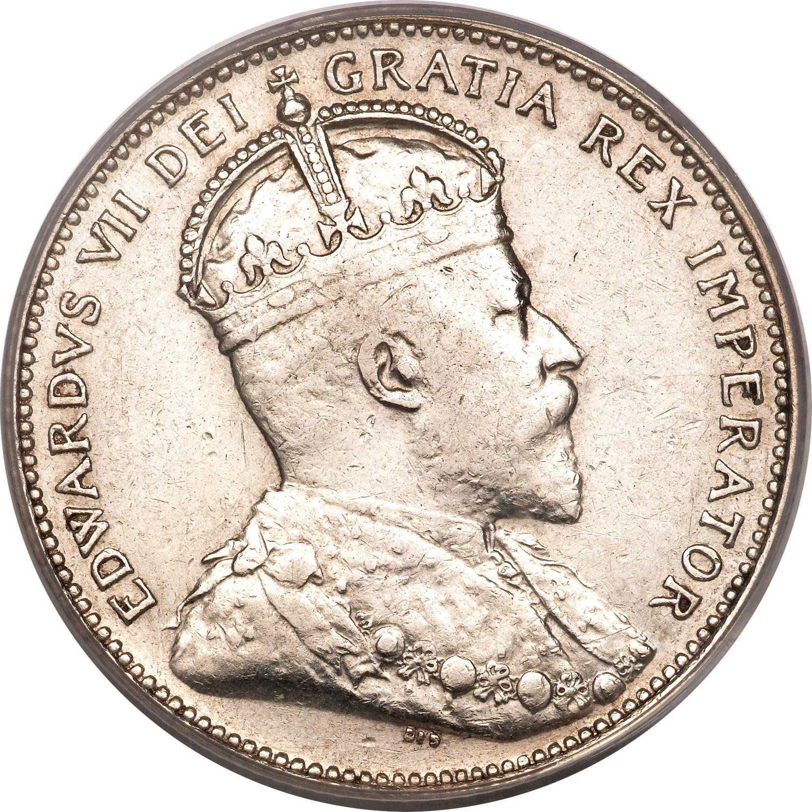 Canada 25 Cents (1902-1909 Edward VII)