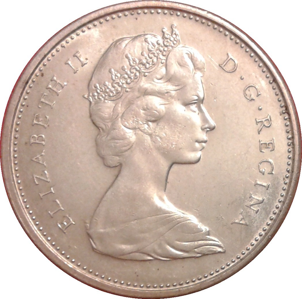 Canada 25 Cents (1967 Elizabeth II)