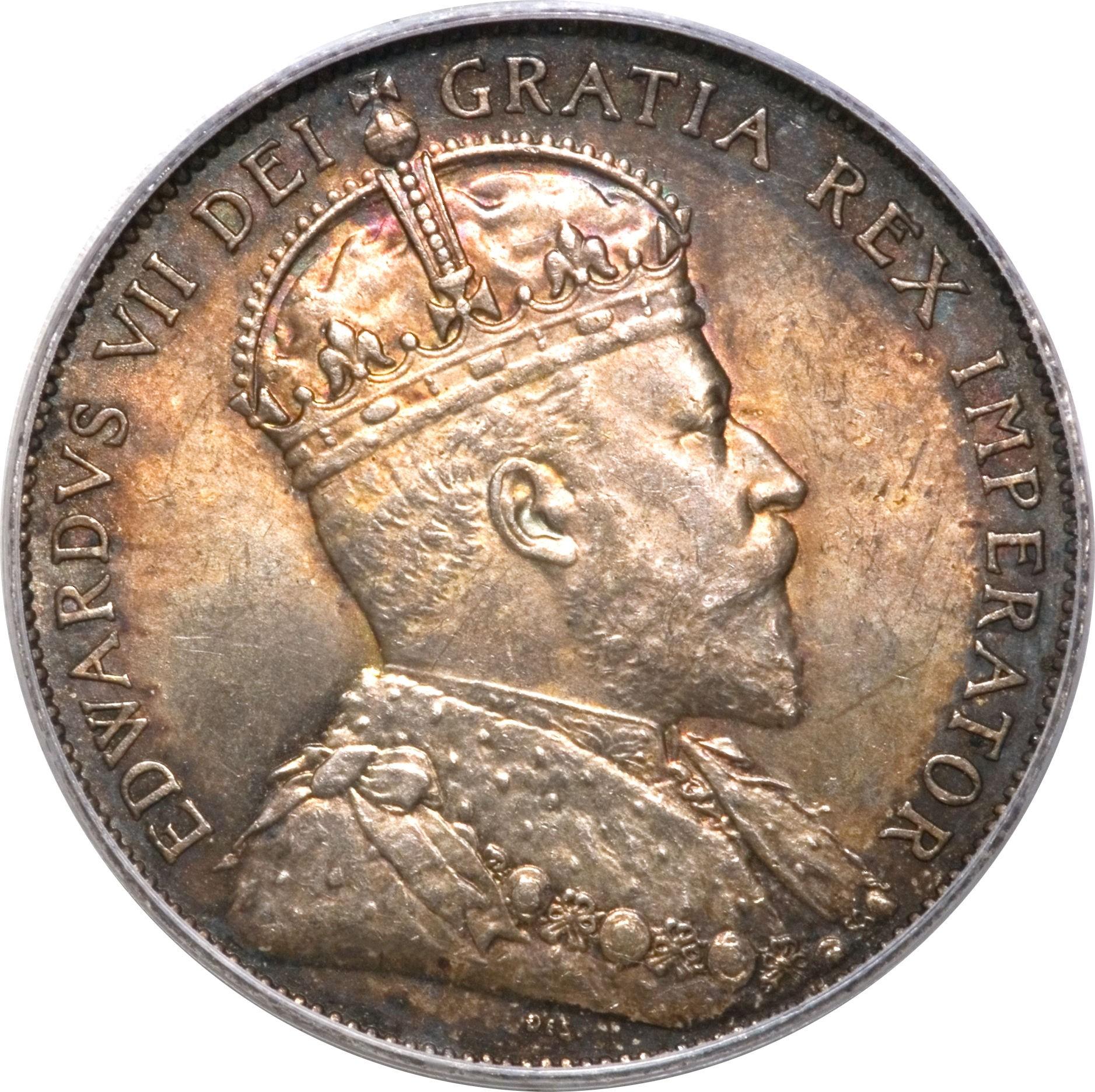 Canada 50 Cents (1910 Edward VII)