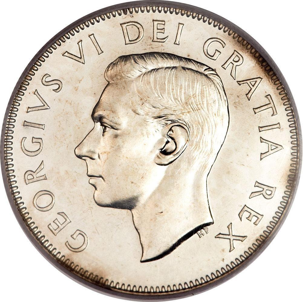 Canada 50 Cents (1948-1952 George VI)