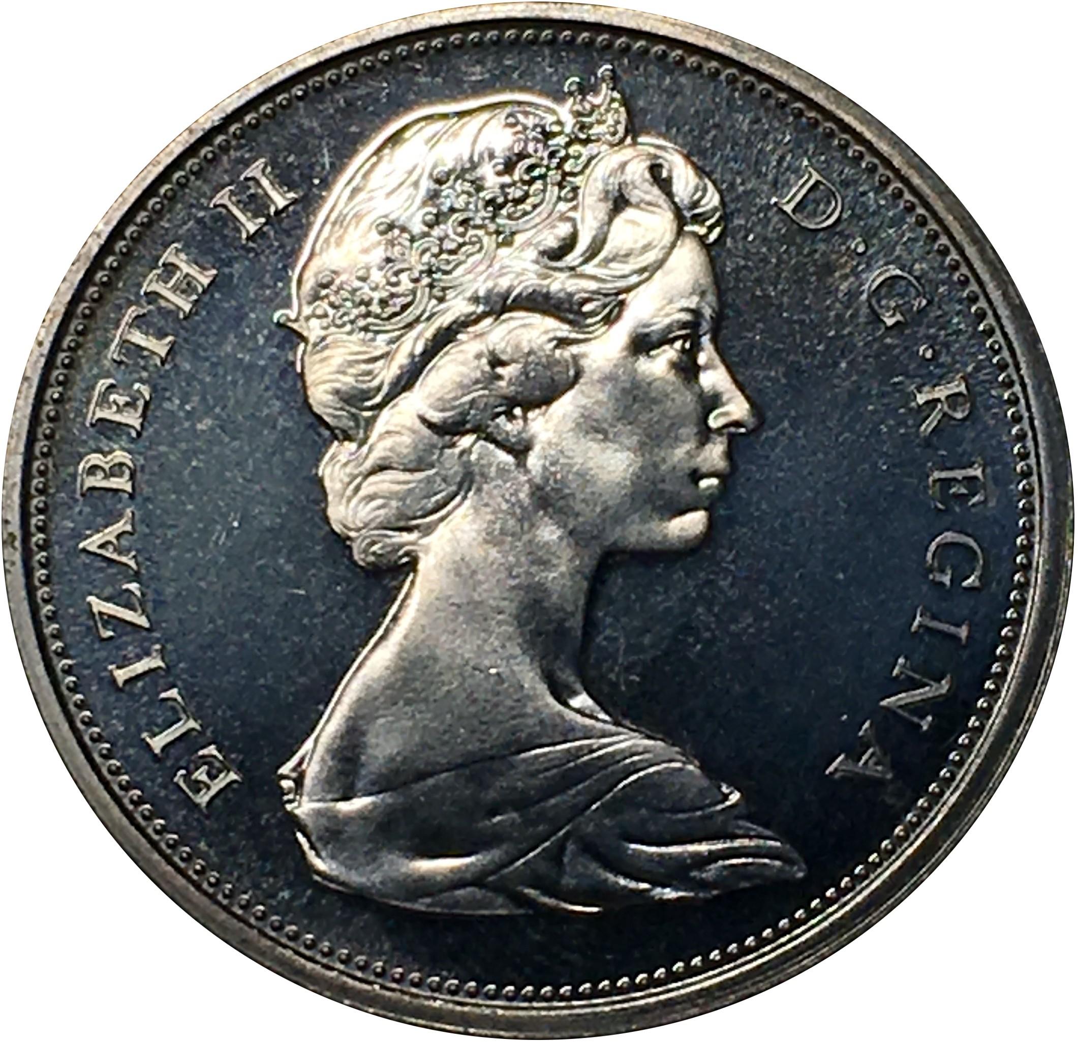 Canada 50 Cents (1967 Elizabeth II)