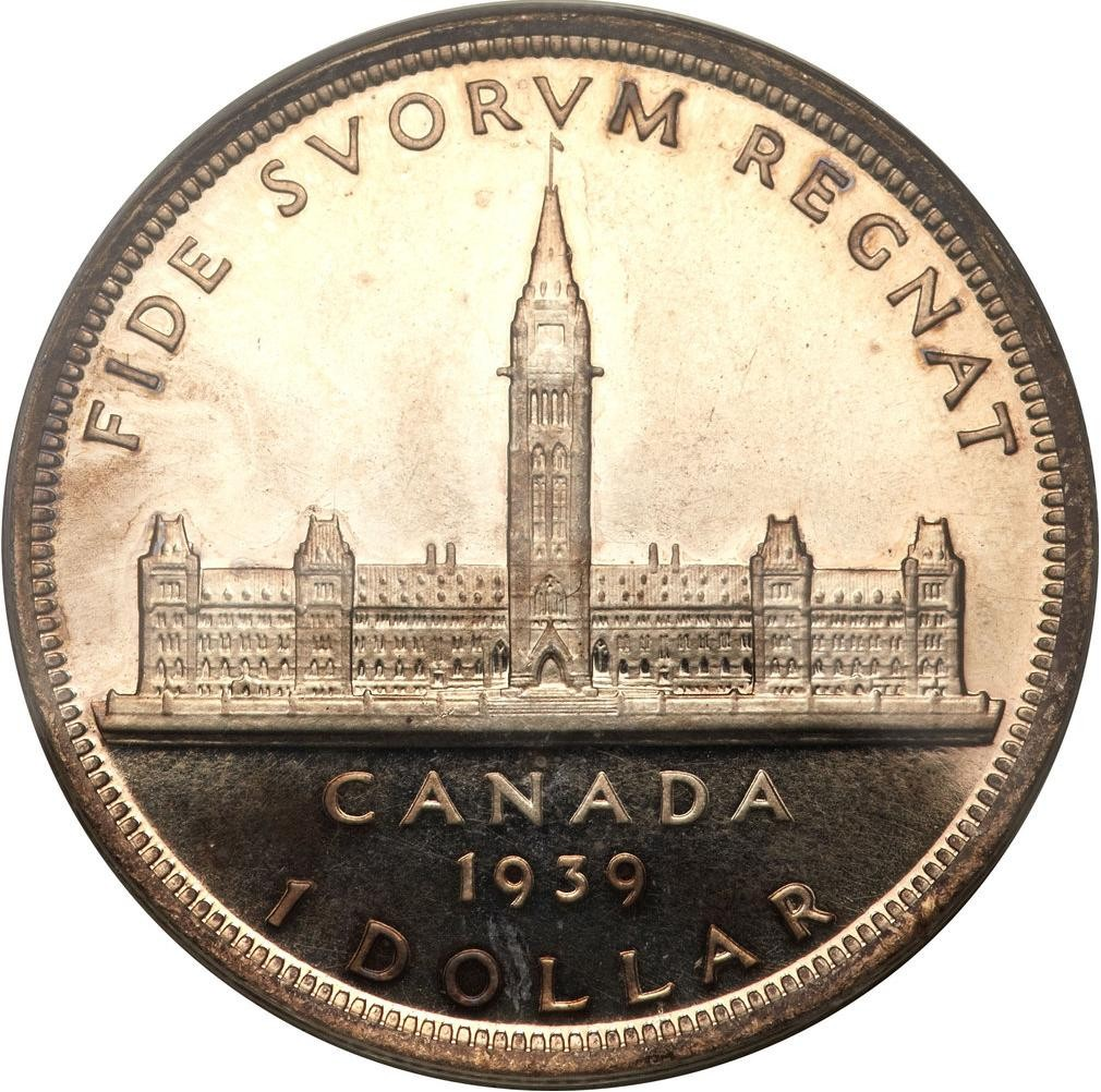 Canada 1 Dollar (1939 George VI Royal Visit)