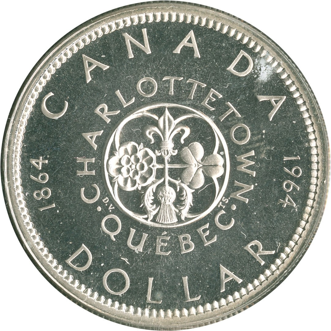 Canada 1 Dollar (1964 Elizabeth II Confederation Conferences)