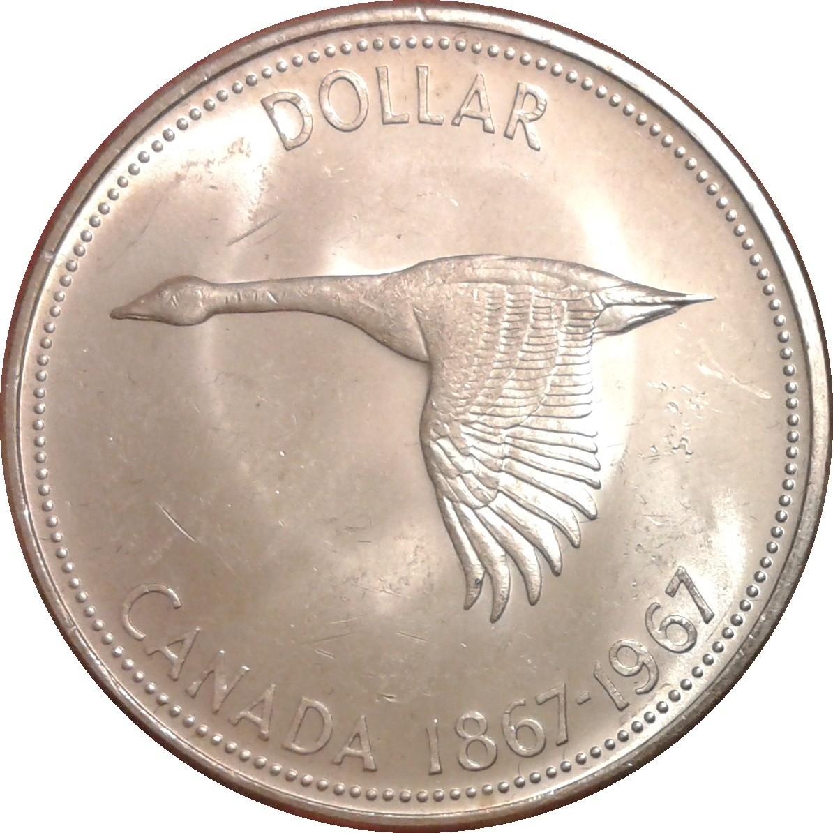 Canada 1 Dollar (1967 Elizabeth IIConfederation)