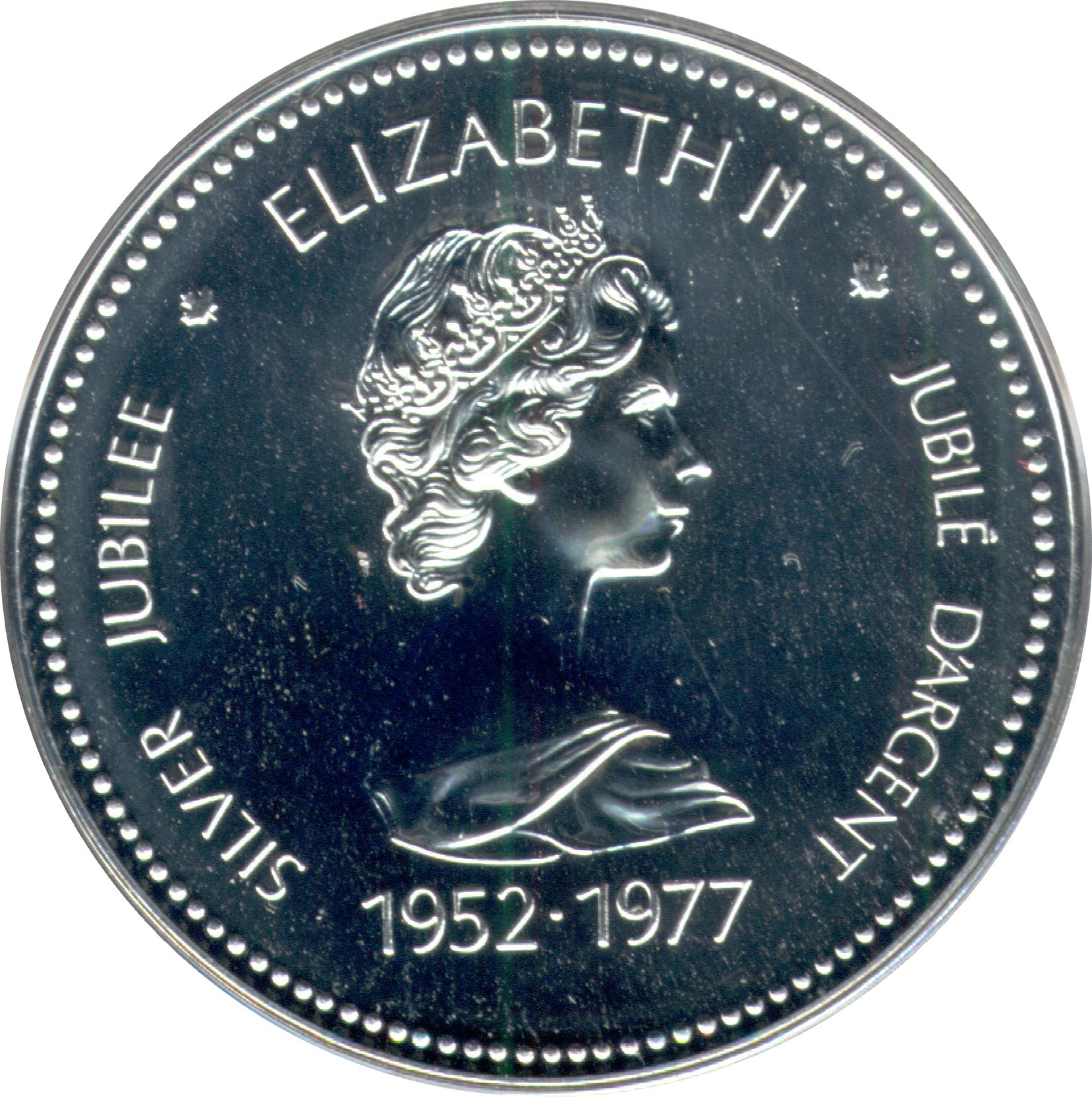 Canada 1 Dollar (1977 Elizabeth II Silver Jubilee)