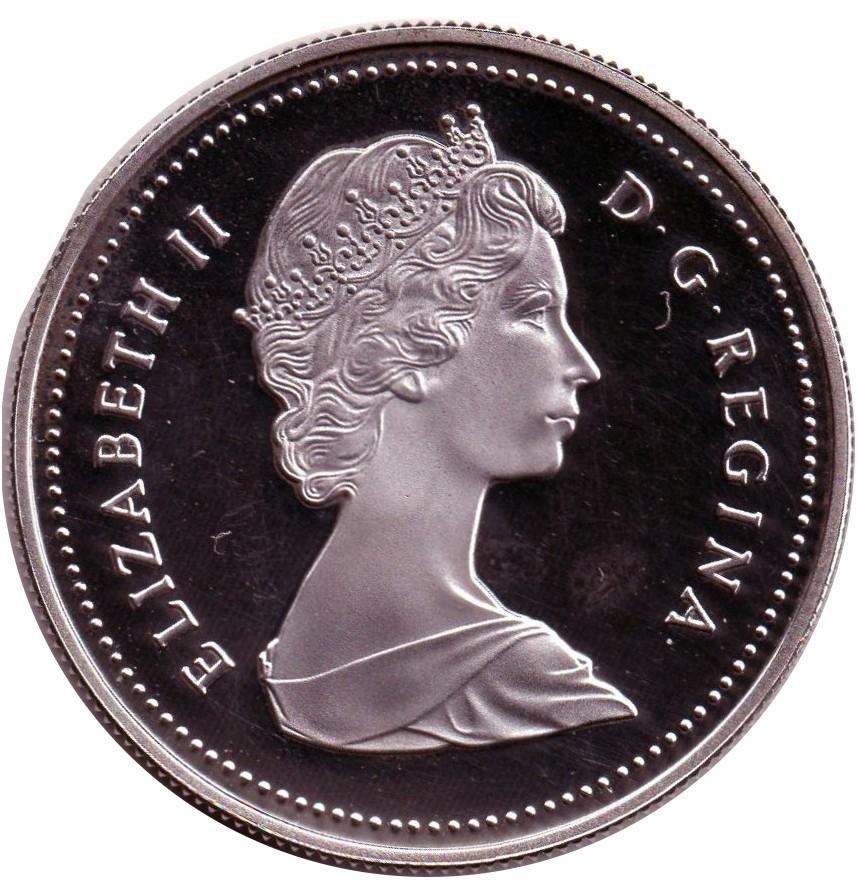 Canada 1 Dollar (1986 Elizabeth II Vancouver)