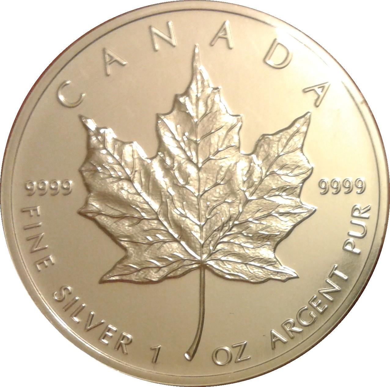 Canada 5 Dollars (1990-2003 Elizabeth II)
