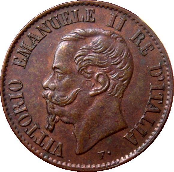 Italy 1 Centesimo (1861-1867 Vittorio Emanuele II)