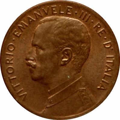 Italy 2 Centesimi (1908-1917 Vittorio Emanuele III)
