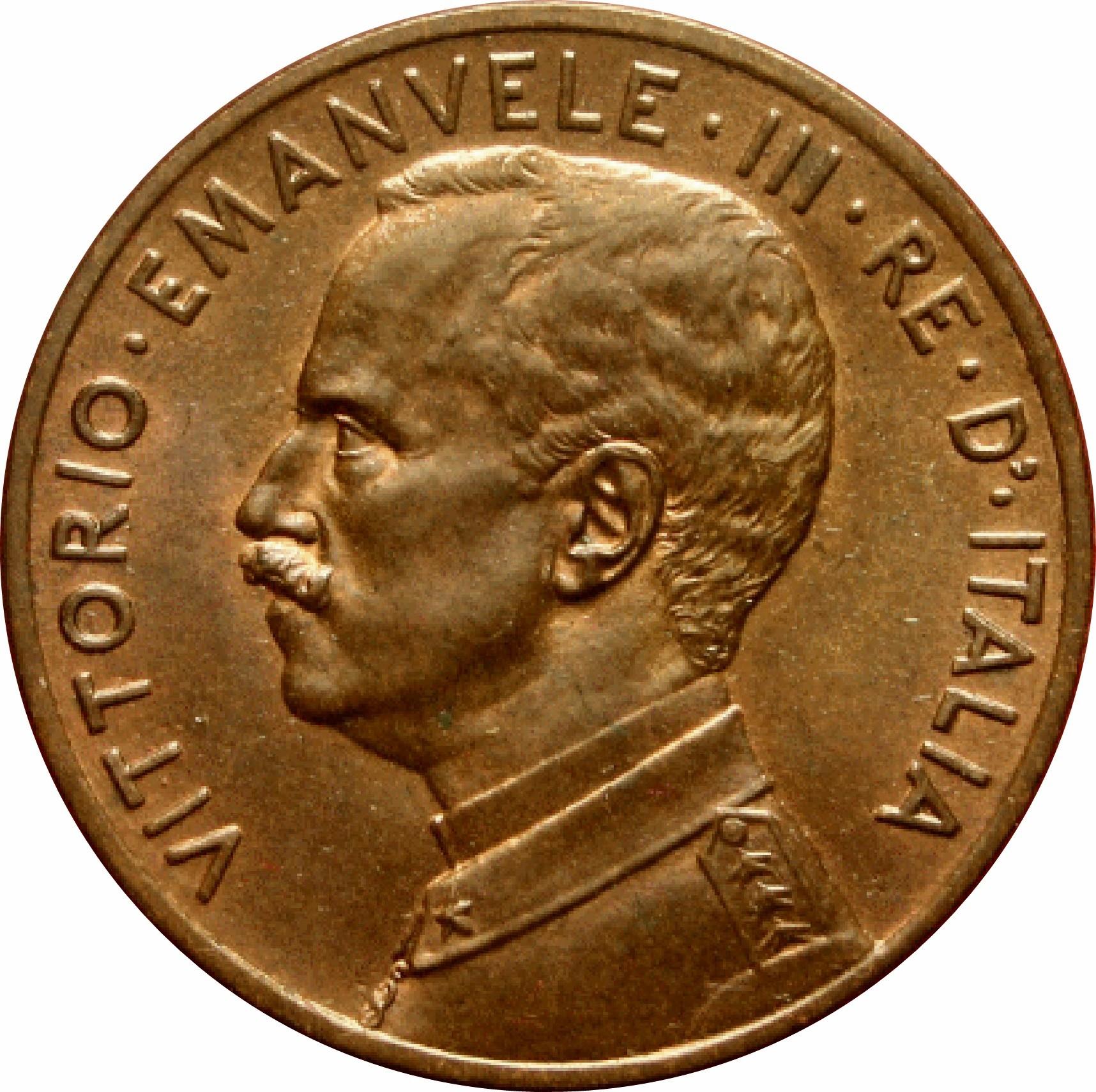 Italy 5 Centesimi (1908-1918 Vittorio Emanuele III)