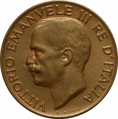 Italy 5 Centesimi (1919-1937 Vittorio Emanuele III)