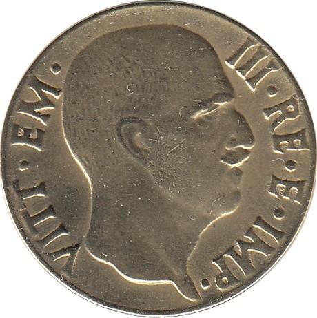 Italy 5 Centesimi (1939-1943 Vittorio Emanuele III)