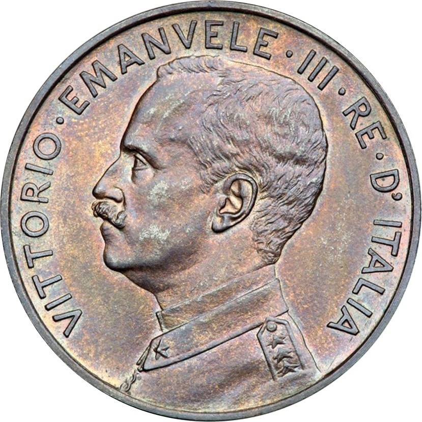 Italy 10 Centesimi  (1908 Vittorio Emanuele III)